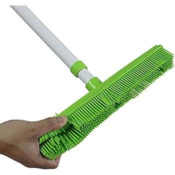Rubber Broom Brush Ideal Carpet Brush Sweeper Remove Pet