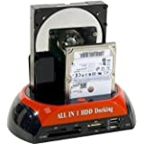 DOCKING STATION SATA I ou II vers eSATA et/ou USB 2.0 - Utilisez les disques durs SATA 2.5 et 3.5 comme de simples clés USB ! AVEC FONCTION BACKUP + Cable Esata Livre