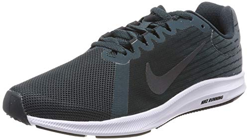Nike Damen Wmns Downshifter 8 Leichtathletikschuhe, Mehrfarbig (Deep Jungle/Anthracite/Aviator Grey 302), 40 EU (6 UK)