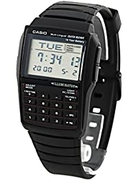 CASIO DBC-32-1A - Reloj digital con calculadora unisex, color negro