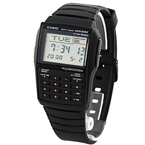 CASIO DBC-32-1A - Reloj digital con calculadora unisex, color negro