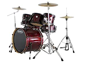 """MAPEX HORIZON HZB STAGE 22 + TOM 8 OFFERT - CHERRY RED Batterie acoustique Fusion 22"""""""
