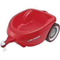 BIG Spielwarenfabrik-obby Neo Trailer Rot Anhänger für drinnen und draußen para el Coche Big-Bobby-Car, Volumen de Carga: 3 litros, para niños a Partir de 1 año, Color Rojo (800056266)