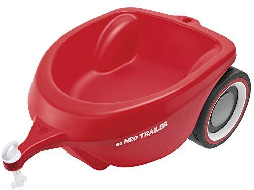 BIG Spielwarenfabrik 800056266 - BIG-Bobby-Car Neo Trailer Anhänger, für Bobby-Car, ab 1 Jahr