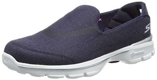 Skechers Gowalk 3 Rivera, Women's Low-Top Sneakers, Blue (Nvw), 5 UK (38 EU)