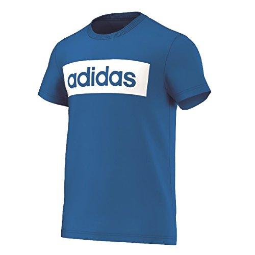 Adidas Lin Tee Maglia per Uomo - Blu (Blu) - L