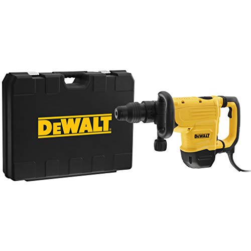 DeWALT D25872K-QS Meisselhammer SDS-max 8kg 1600Watt, Schwarz/Gelb