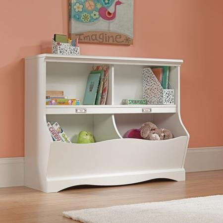 sauder-pogo-bookcase-footboard-soft-white-by-supernon