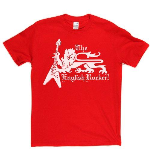The English Rocker British UK London Rock Music Tee Eng T-shirt Rot