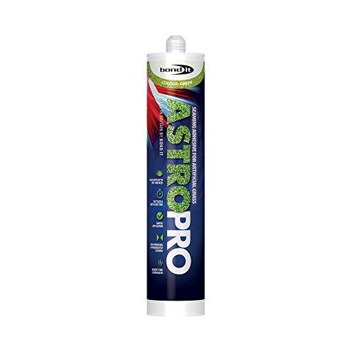 Astro Pro, soluzione adesiva spray per tappeti di erba artificiale, flacone da 310 ml, soluzione elastica ibrida per incollare erba artificiale (etichetta in lingua inglese), confezione da 2