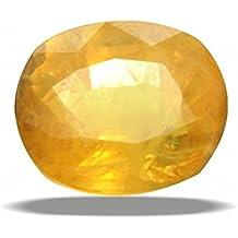 4.25 Ratti Natural Pukhraj Yellow Sapphire Certified