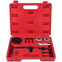 Kit de extractor de embrague del compresor del A/C, herramienta de instalación de