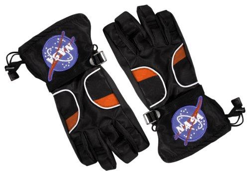 Aeromax Kostüm - Aeromax ASGB-MED Astronaut Handschuhe, Schwarz, Gr--e Medium
