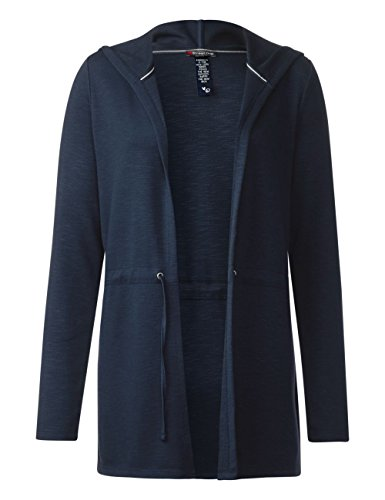 Street One Damen Strickjacke Blau (Night Blue 10109)