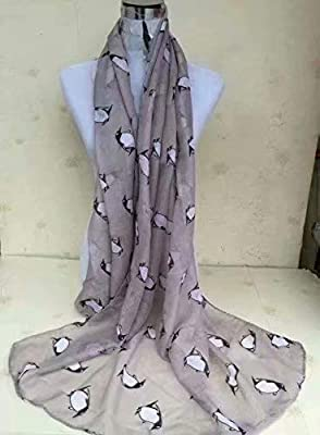 Butterfly Lady Women Fashion Stylish Soft Scarf Shawl Neck Wrap Headscarf Stole (Butterfly Navy/White Background) : everything five pounds (or less!)