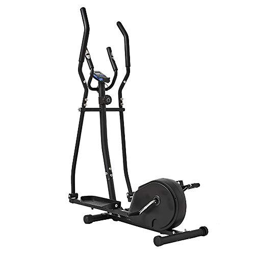Crosstrainer Kombination 2-in-1-Zyklus und Ellipsentrainer for Home Fitness Ausdauertraining Workout (Color : Black, Size : Free Size)