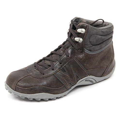 B8725 sneaker uomo MERRELL PERFORMANCE FOOTWEAR scarpa marrone shoe man grigio-blu