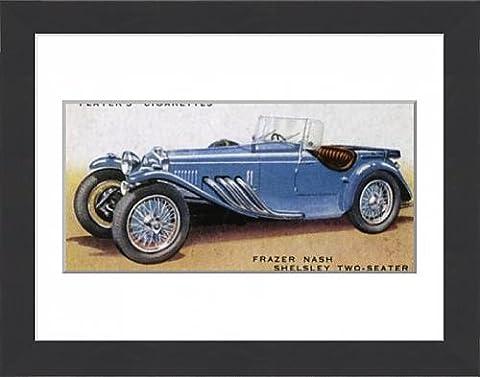 Framed Print Of Frazer-Nash Sports Car