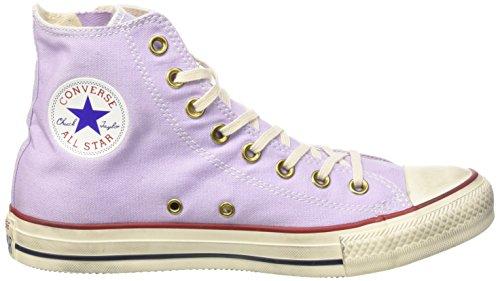 Converse All Star Hi Side Zip Canvas, Baskets Basses mixte adulte Violet - Irisglow