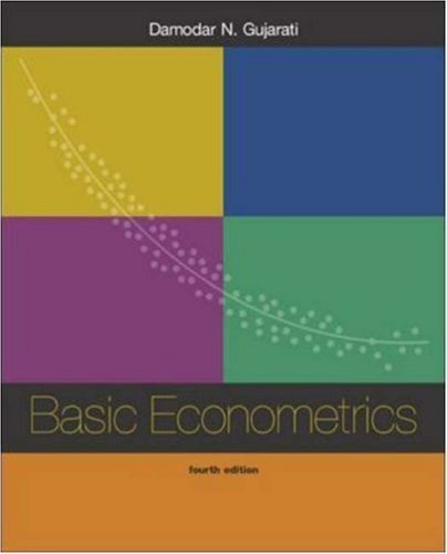 basic econometrics gujarati 4th edition pdf free download