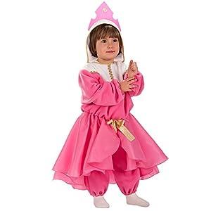 Carnival Toys 63040-Princesa, Disfraz para bebé con Capucha, 1-2años