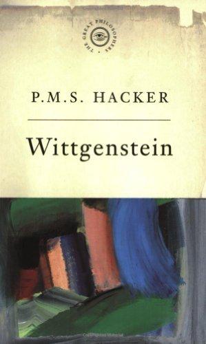 The Great Philosophers: Wittgenstein by Peter Hacker (1997-10-27) par Peter Hacker