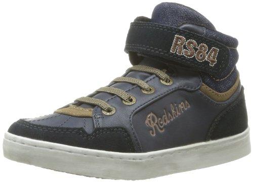 Redskins Ziguezague Garoto Jovem Sneaker Azul - Azul (marinho / Havane)