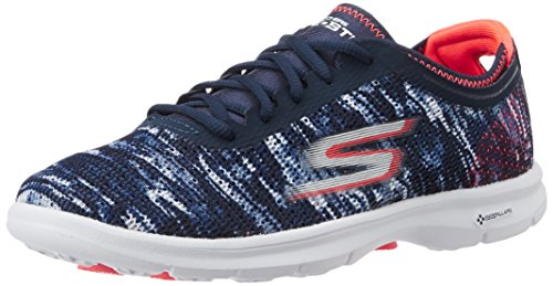 Skechers Go Step, Baskets Basses Femme Bleu (Marine)