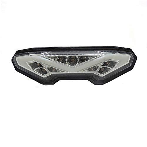 BEESCLOVER Feu arrière LED Clignotant de Frein pour Yamaha MT-09 FZ09 13-17