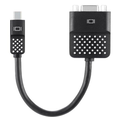 Belkin F2CD028BT Mini DisplayPort auf VGA Adapter schwarz (Hdmi-auf-vga-adapter Belkin)