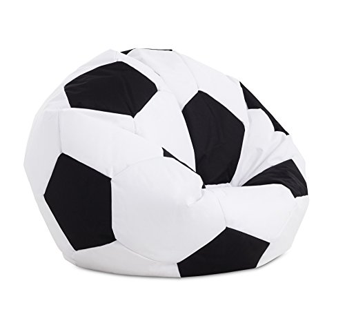 Textil-home Football-Puff Balón Pelota Futbol Puff