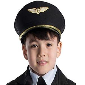 Dress Up America Accessorio per costume da adulto per pilota di linea aerea