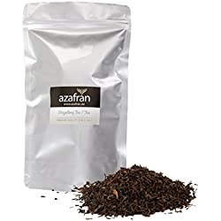 Schwarzer Tee - Indischer BIO Darjeeling Schwarztee lose (250g) Second Flush - ca.125 Tassen Genuss von Azafran®