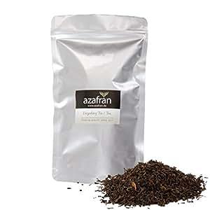Schwarzer Tee - Indischer BIO Darjeeling Schwarztee lose (250g) Second Flush | ca.125 Tassen Genuss von Azafran®