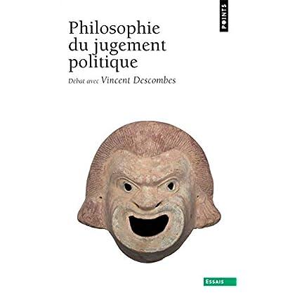 Philosophie du jugement politique. Débat avec Vinc