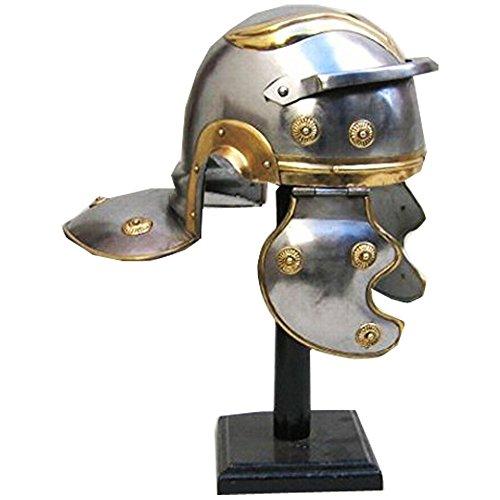 ITDC Einfache römische Garde Helm in Stahl W / Brass - Wearable-Kostüm