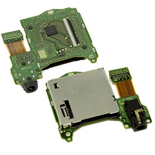 ZqiroLt Headset, Original Game Cartridge Card Slot Reader Headphone Jack Port f¨¹r Nintendo Switch