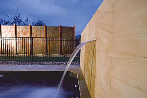 AquaForte Wasserfall Lippe Silkflow 300 Geeignet fürs Schwimmbad Swimming Pool Gartenteich