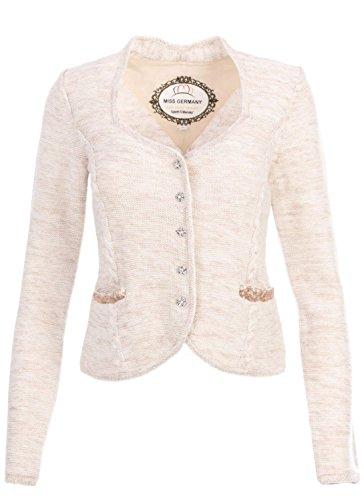 """Elegante Trachtenjacke """"Adriene"""" (beige) Größe XL"""