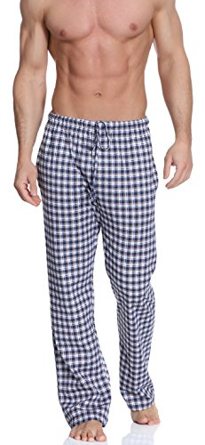 Timone Herren Schlafanzugshose TPP-001 (Muster-11 (207413), XL) (Herren Hose Pyjama)