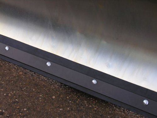 Rasor verzinktes Schneeschild 118x50 cm für Rasentraktore ID 2191