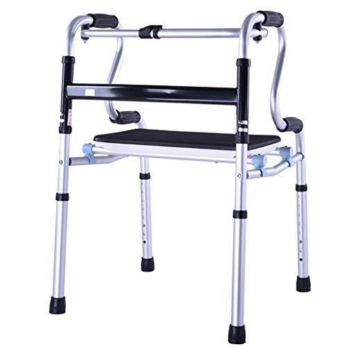 Walker für ältere und behinderte, extra breite, Verstellbare Walker mit Heavy Duty Support und Dual Release Locking, Mobilitätshilfe für große und große Personen (Breit Walker Extra)