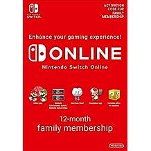 Nintendo Switch Online Membership - 12 Month Family Membership   Switch - Download Code