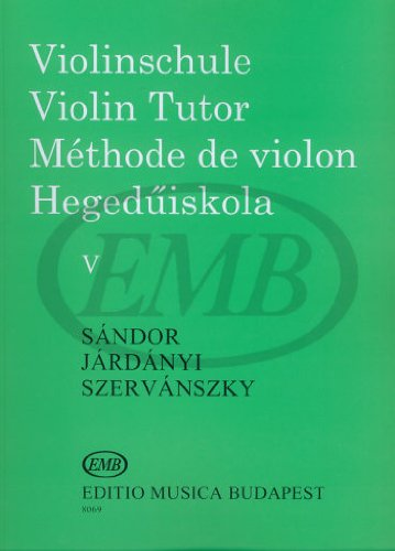 Methode de Violon - Violin Tutor 5