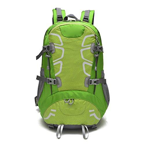 Sport All'aria Aperta Avventura Impermeabile Zaini Durevoli Borsa A Tracolla Per Arrampicata Camping Escursionismo Viaggiare Alpinismo,Red Green