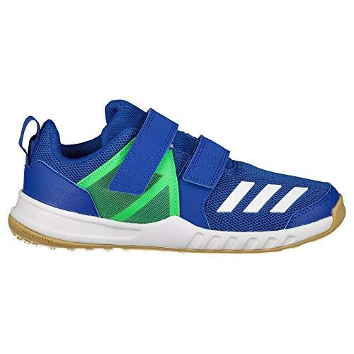adidas Unisex-Kinder FortaGym CF K Fitnessschuhe, Blau (Reauni/Ftwbla/Limsho 000), 34 EU