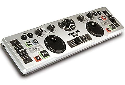 Numark DJ2GO Contrôleur DJ Ultra-Portable pour MAC ou PC avec Logiciel