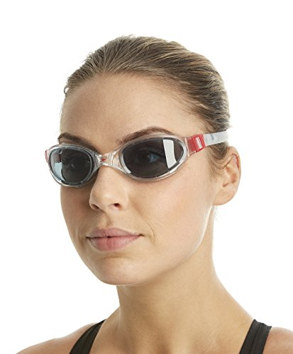 Mainline Erwachsene Schwimmbrille Futura Plus Red/Smoke, One size