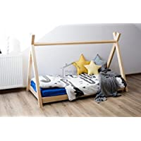 Preisvergleich für Monlitcabane Bett Tipi A 80x 180+ Lattenrost