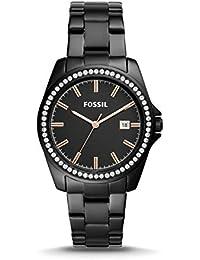 301c6ff90c3a Fossil Janice BQ3318 - Reloj de Tres manecillas (Acero Inoxidable)